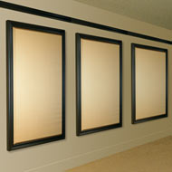 framed acoustic panels